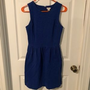 JCrew fit and flare dress